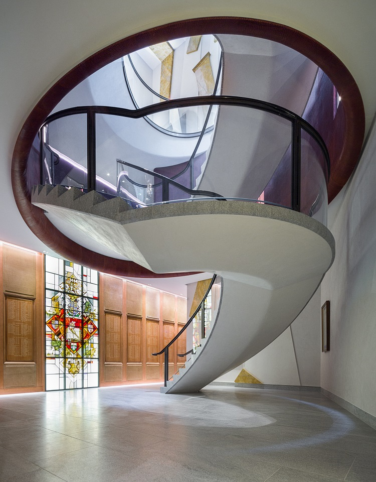 Elliptical Spiral Staircase - SD Structures